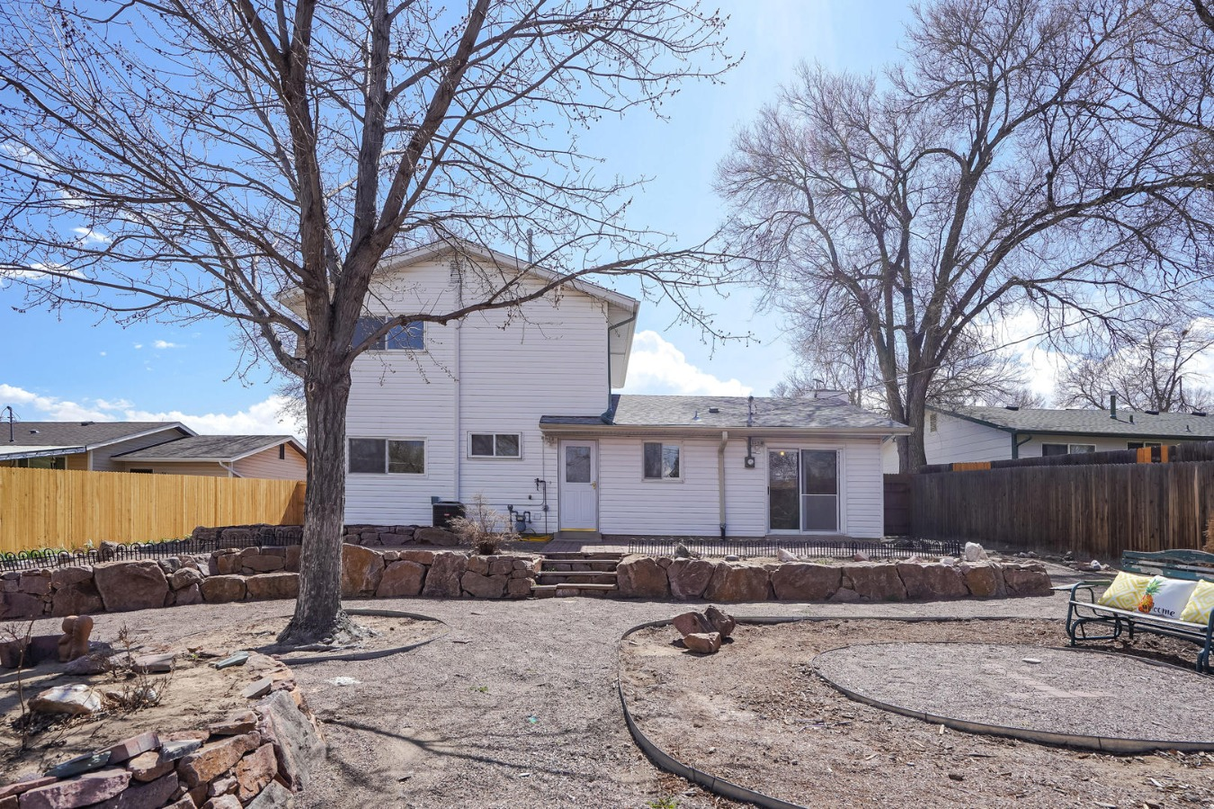 Huge Low Maintenance Backyard