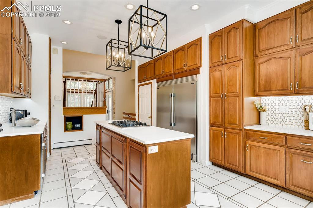 Great flow from the kitchen & dining areas.