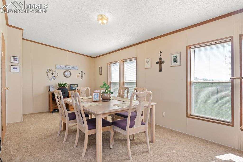 Huge dining area will fit a large gathering!