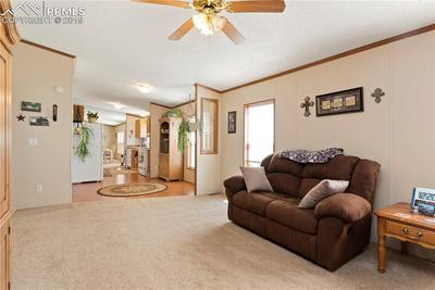 Flow from the family room through the eating nook into the kitchen and beyond.