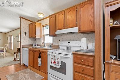 Tons of cabinets and counter space!