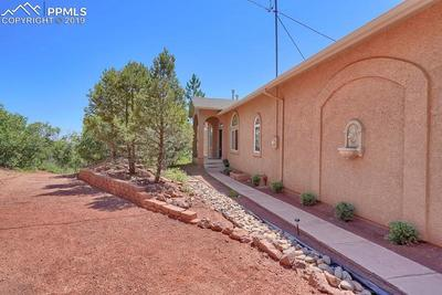 Very Private location with mature trees surrounding the house.
