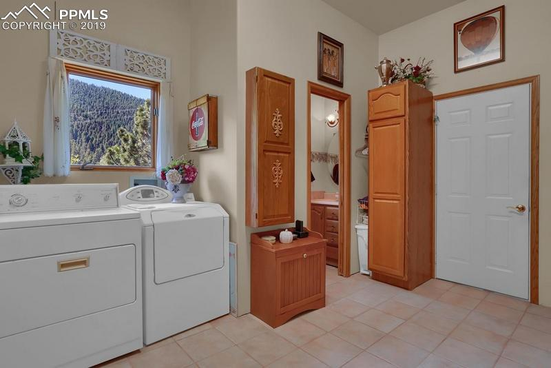 Another view of the master bath.  Note the plank hardwood flooring.