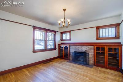 Entire home has original woodwork and windows.
