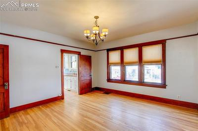 Spacious dining room will handle all of your entertaining needs!