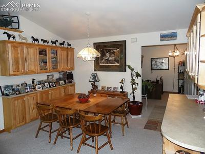 Formal Dining with Built in Hickory Cabinets! Lot's of Storage!