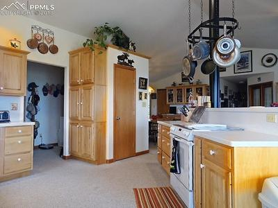 Entry from Main Level Laundry Into Kitchen