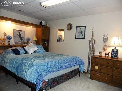 Large Basement Bedroom! Lighted Headboard and Bed Frame Included!