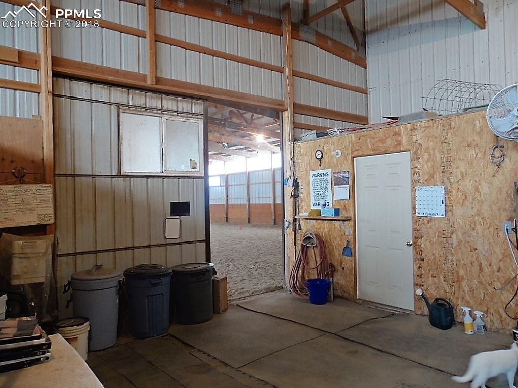 Entrance to Indoor Arena & Tack Room