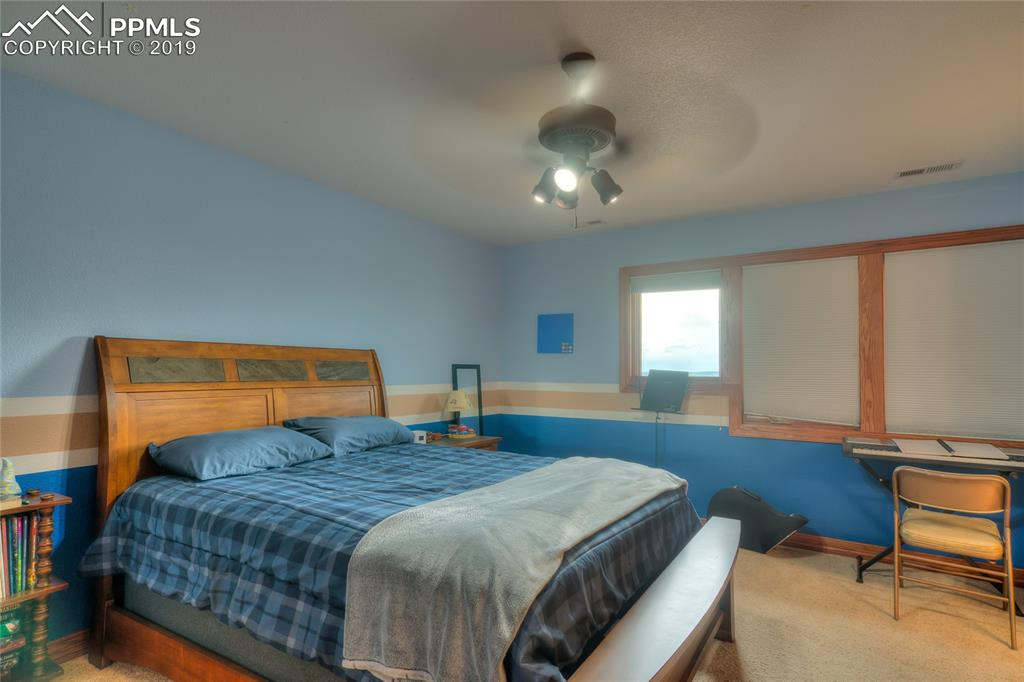 ~ Upstairs bedroom with walk-out balcony & views for days! ~