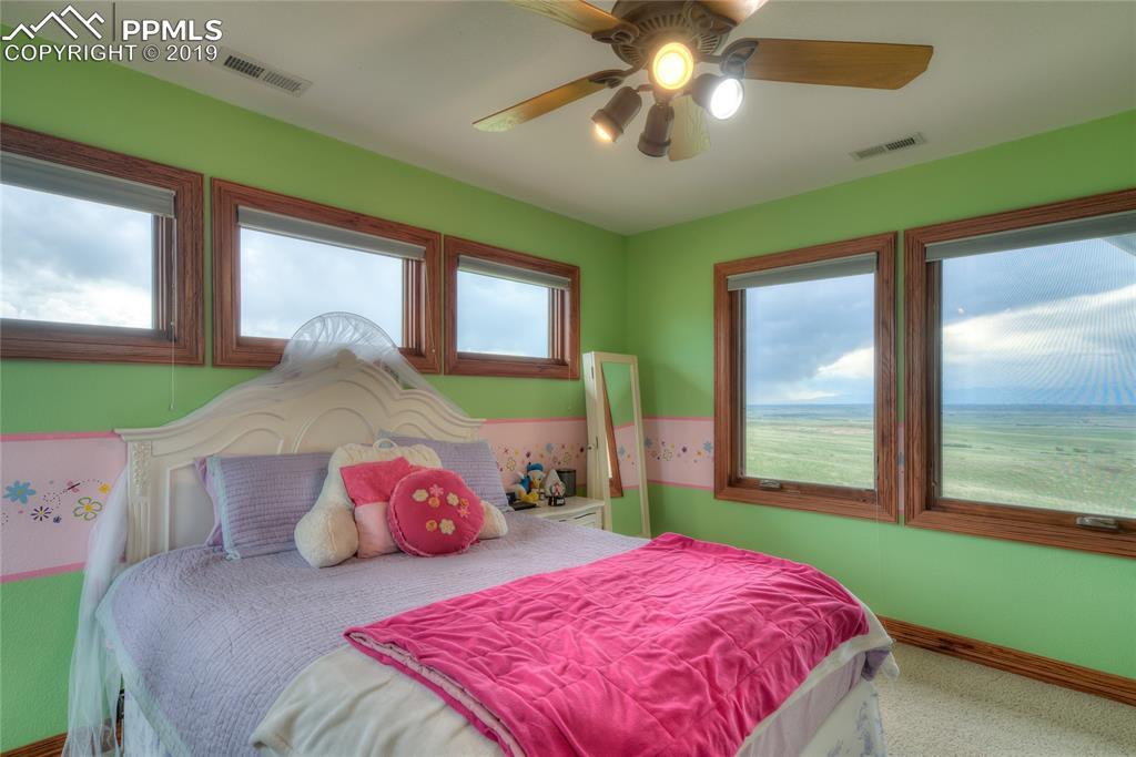 ~ Final upstairs bedroom, ALL w/ overhead lighting, huge closets and windows! ~