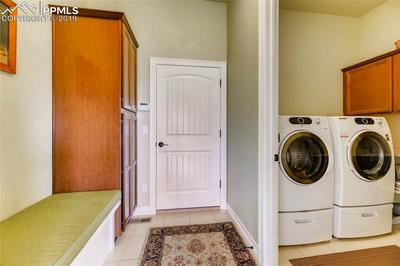 Main level laundry room - this room has had the paint color updated since this p