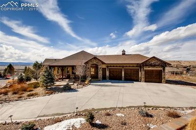 Stunning custom estate in Crystal Valley Ranch!