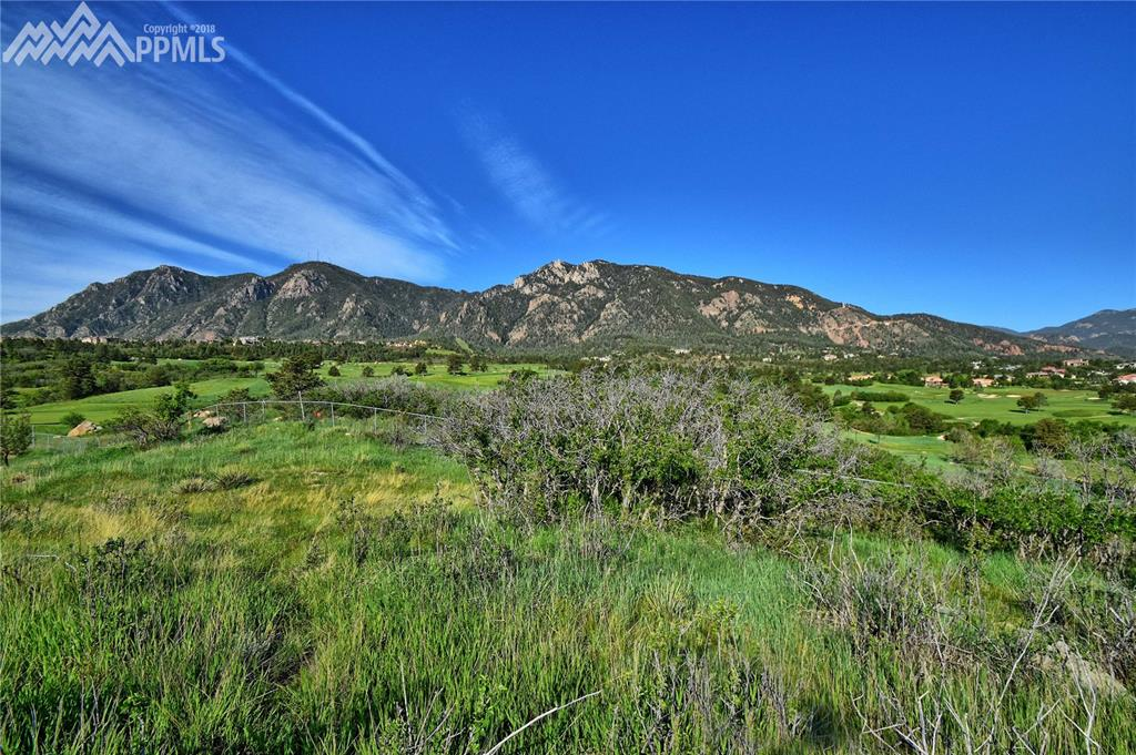 Approx 3/4 acre lot sits adjacent to the Broadmoor Resort property.  Breathtakin