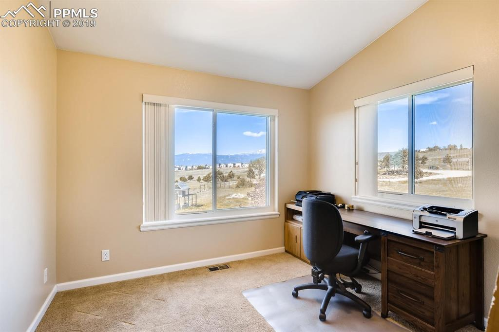 What an excellent view from the Southwest bedroom or office!