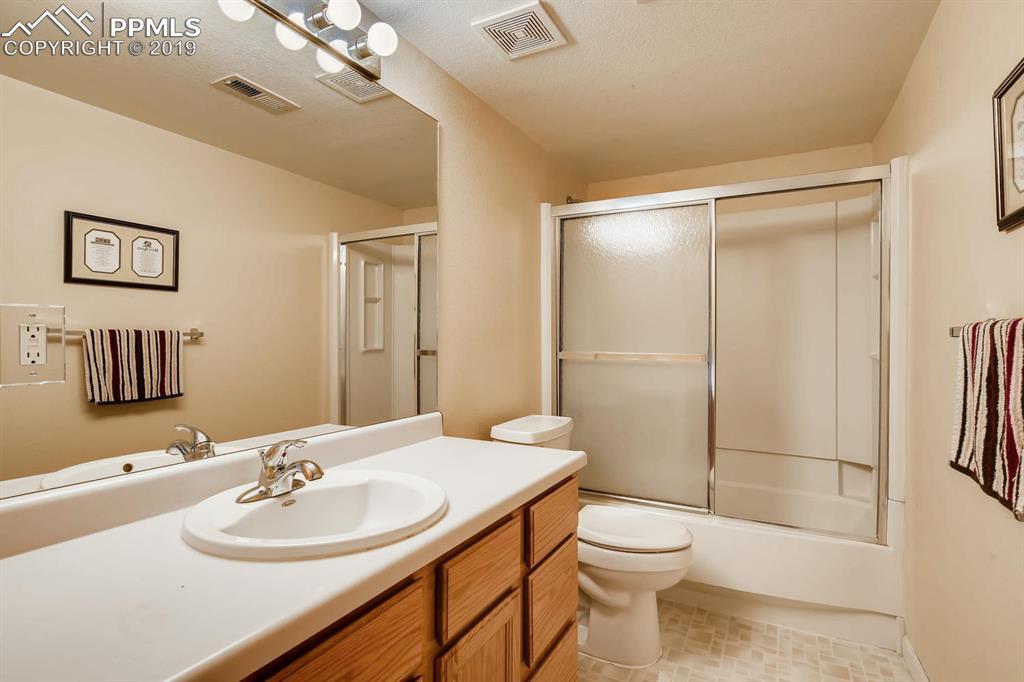 Main level guest bath.