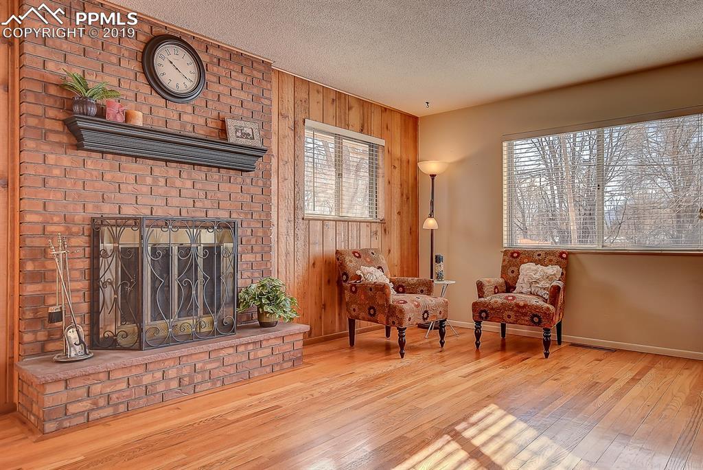 Beautiful Brick Fireplace!