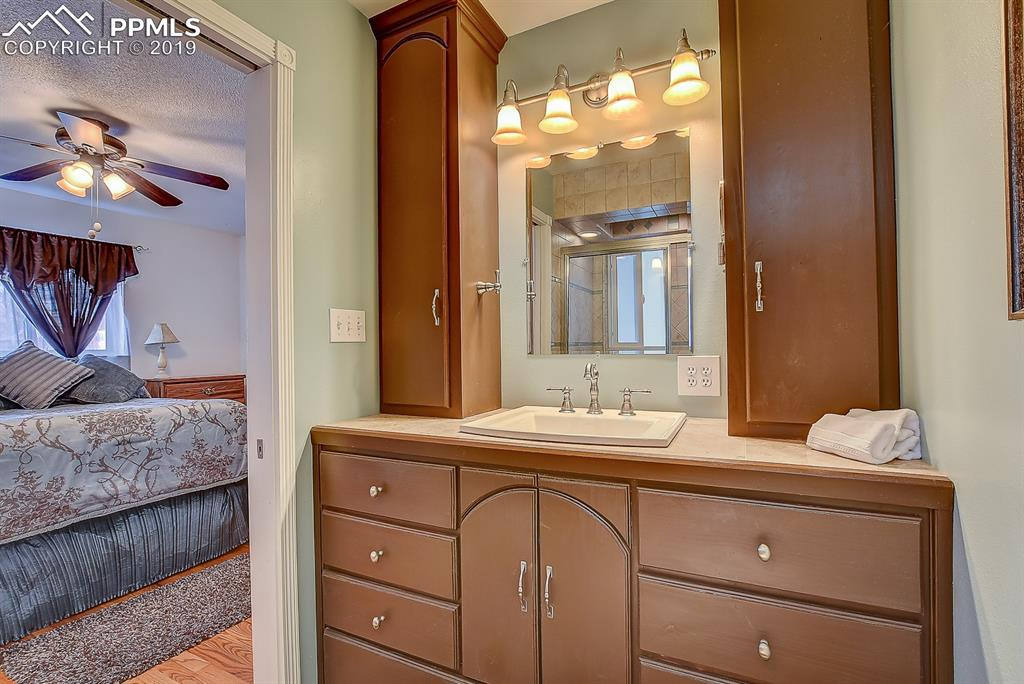 Master Bath- Adjoins to Master Bedroom- Updated Cabinets