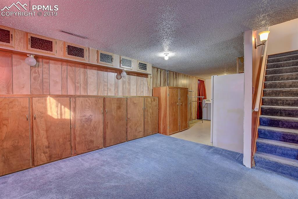 Basement level bonus area and Laundry space!