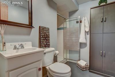 Basement Level Bathroom