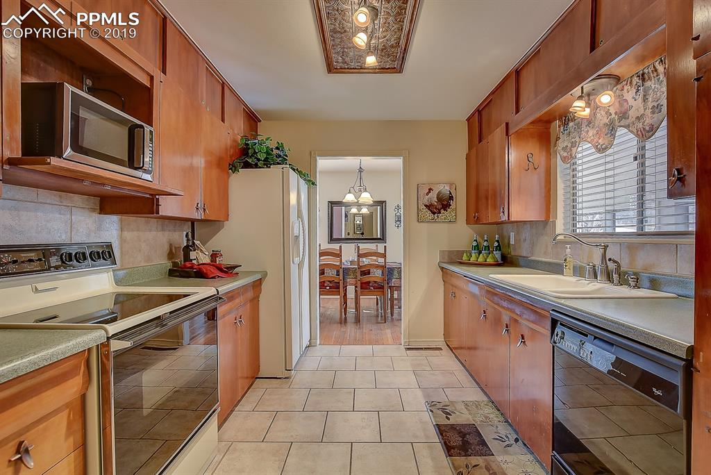 Kitchen with Tile Floors.