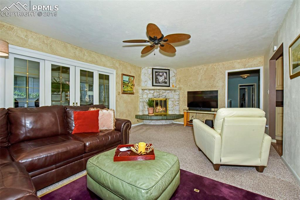 Enclosed porch off family room