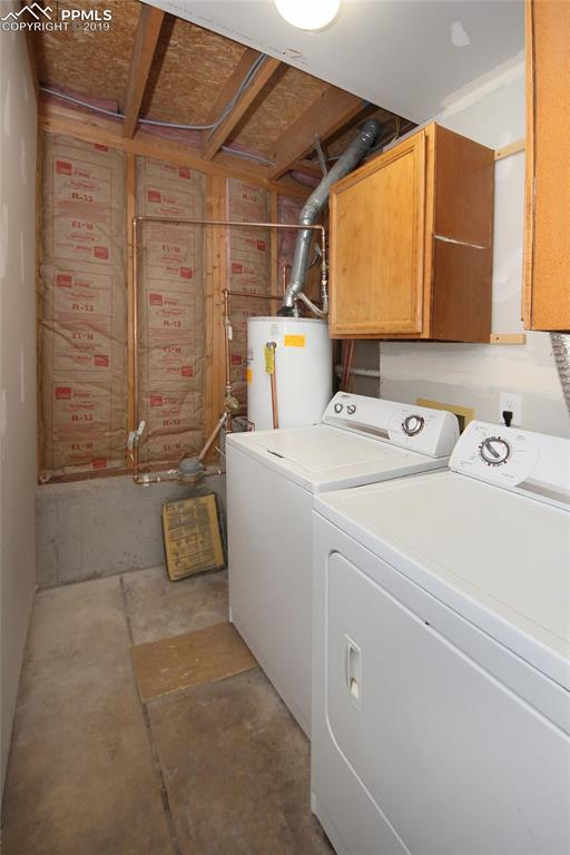 Laundry room lower level