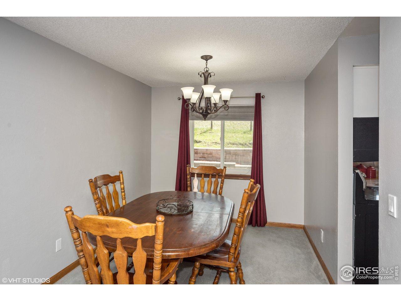Formal dining room, updated lighting
