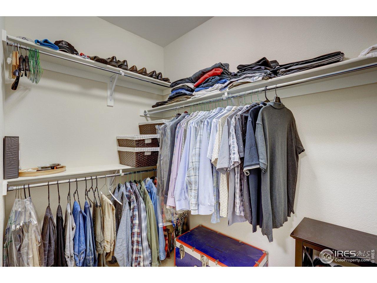 closet of bedroom #3