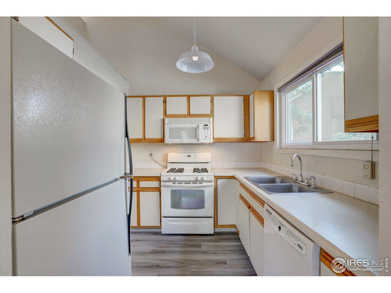 Kitchen has new flooring