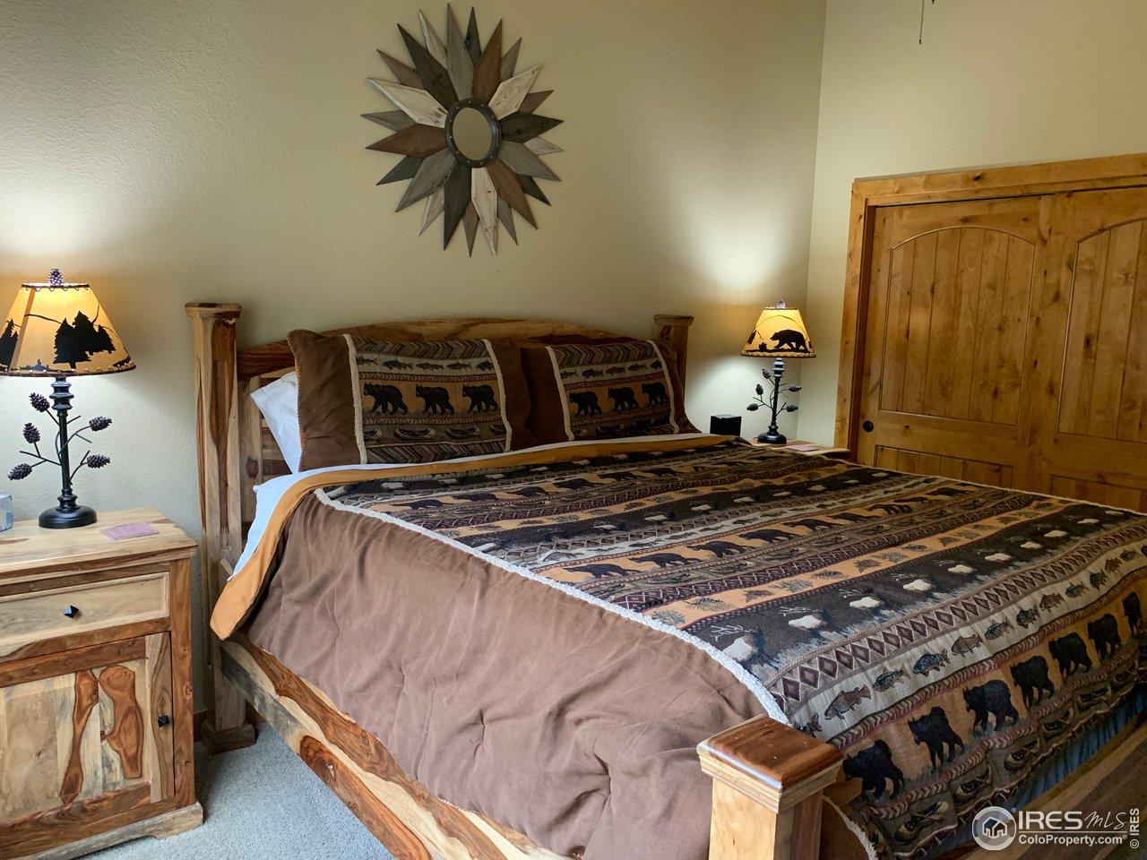 Main Level Bedroom with 3/4 en suite
