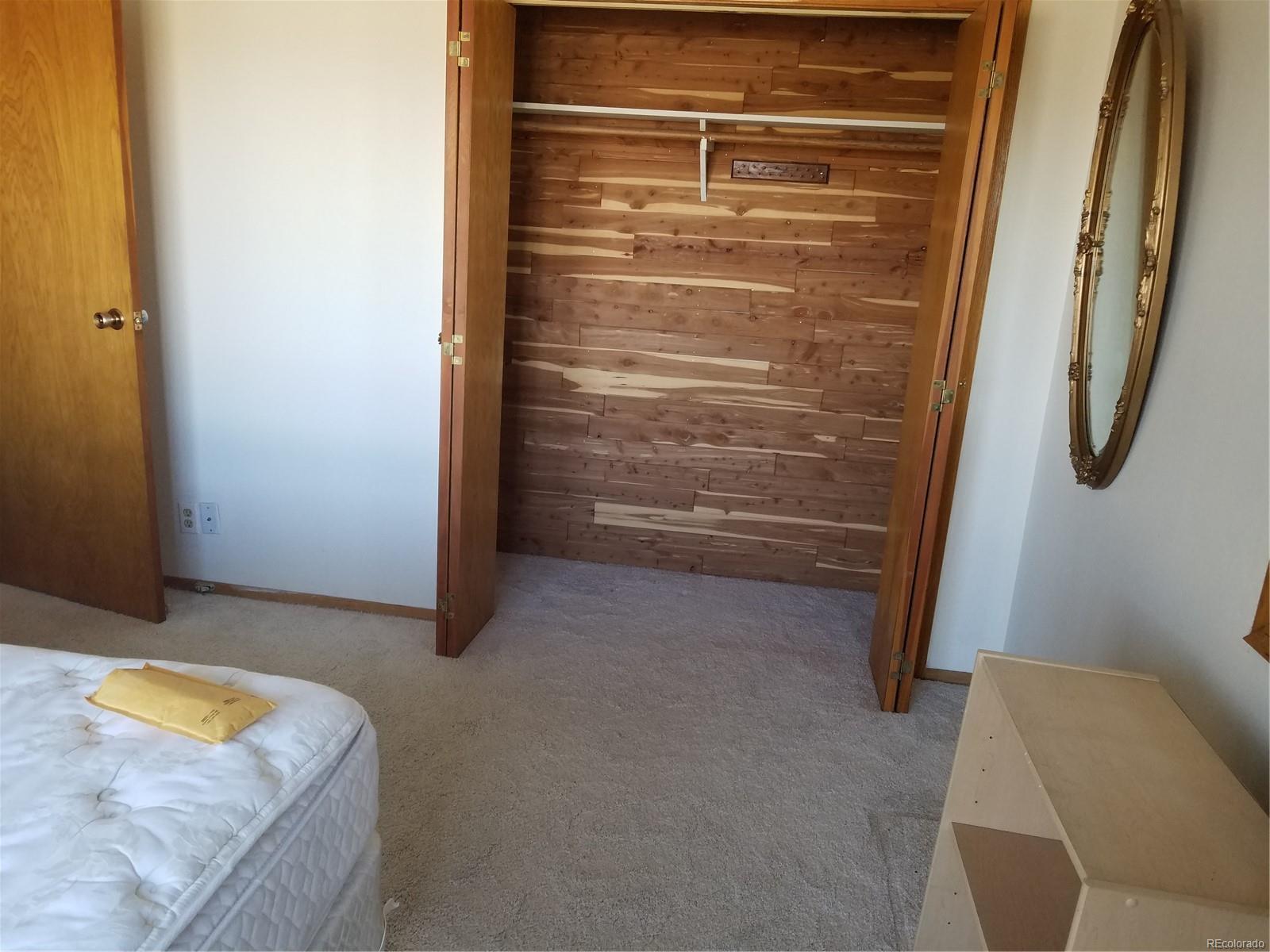 CEDAR CLOSED IN MASTER BEDROOM