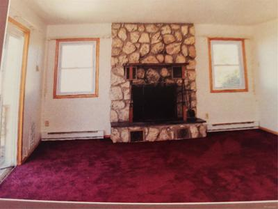 TWO STONE WOOD FIREPLACES * LIVING ROOM & BASEMENT*