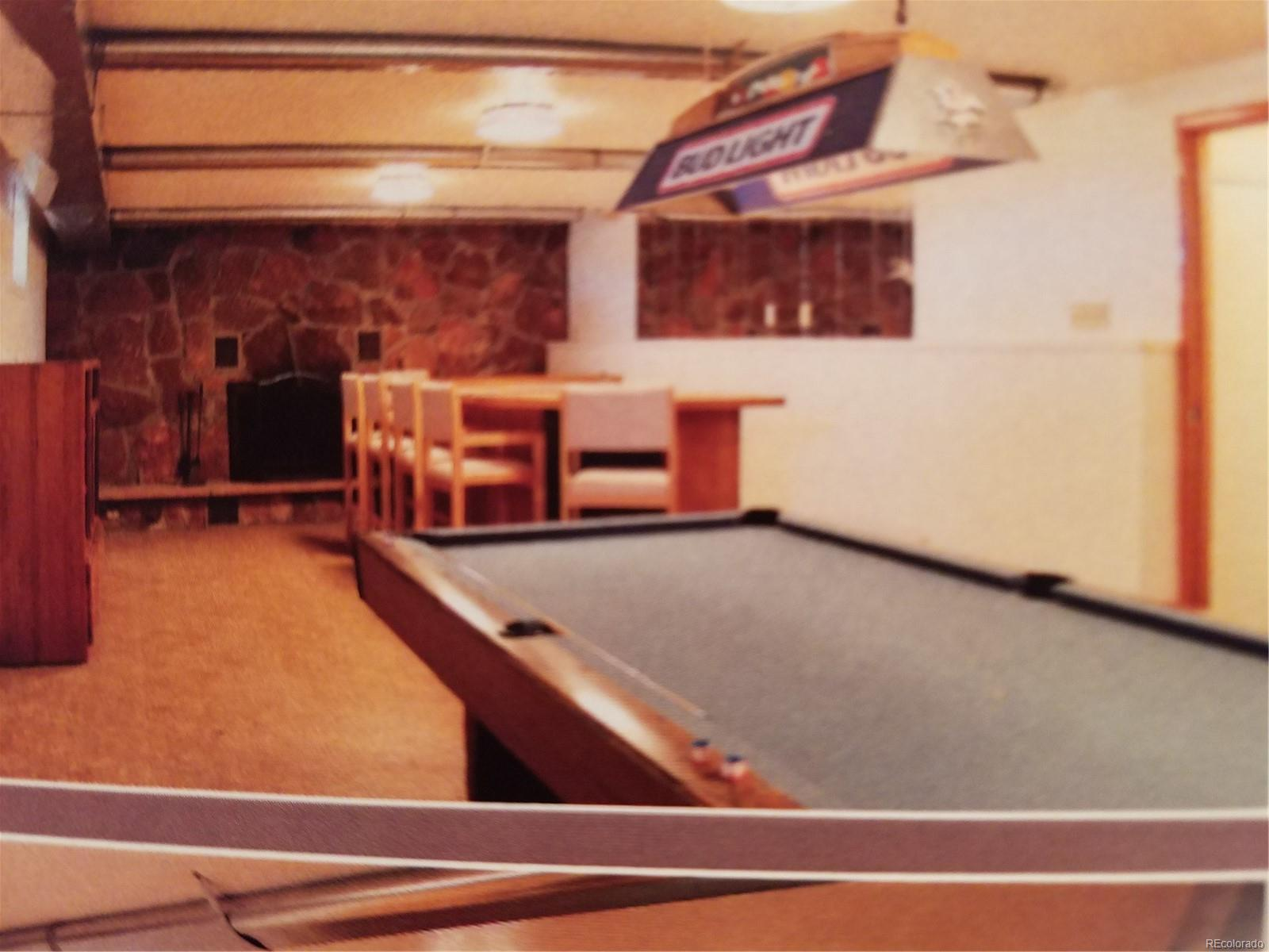 BASEMENT POOL TABLE INCLUDED