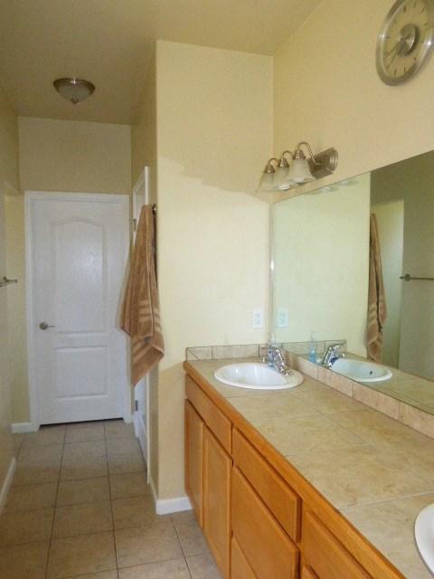 Master Bathroom Dual Sinks