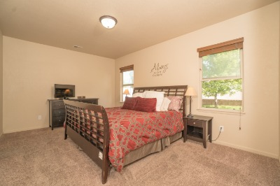 Tons of Room in Extra-Large Master Bedroom!