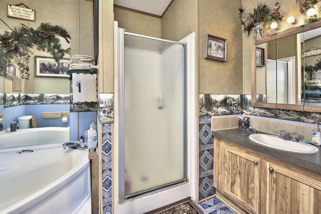 Separate Tub & Step-In Shower in Master Bathroom!