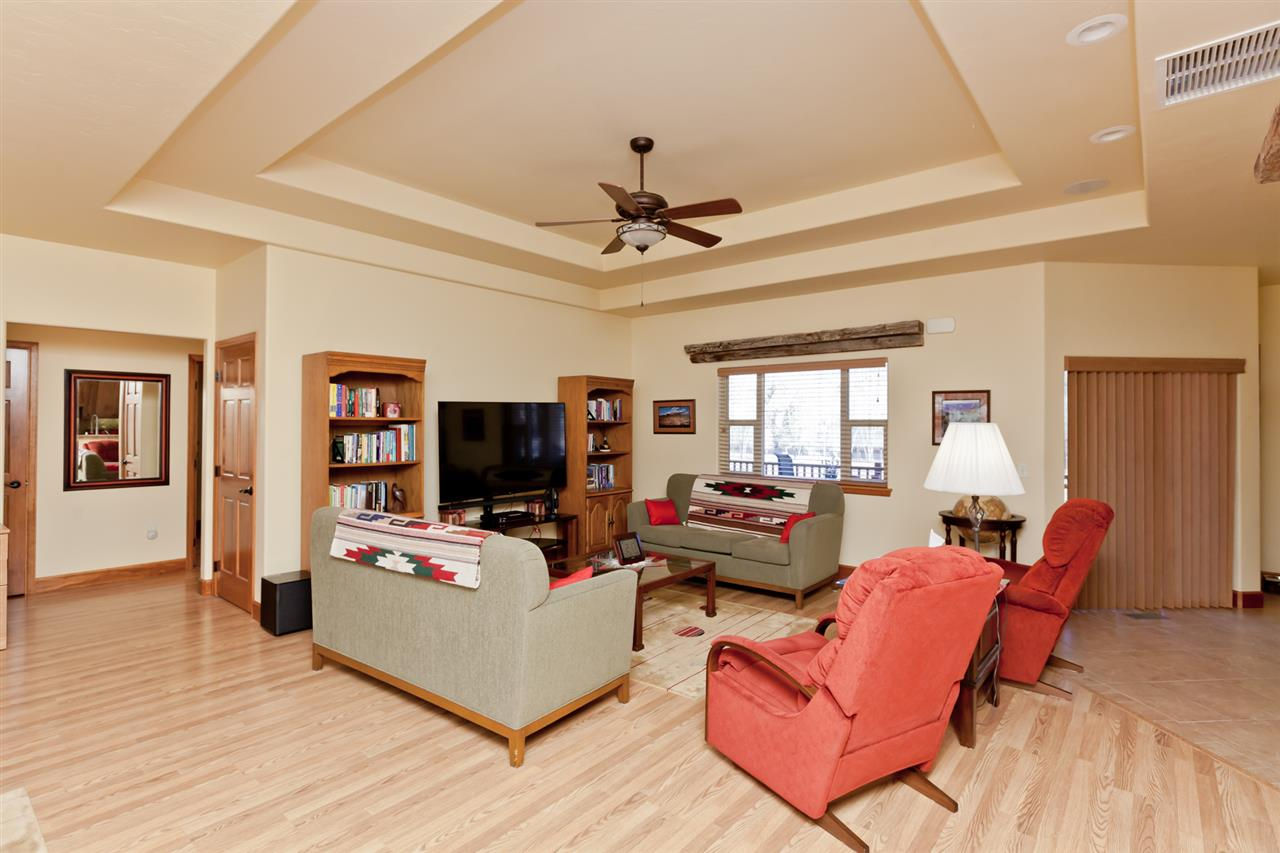 Trayed Ceilings in the Living Room & Master Suite!