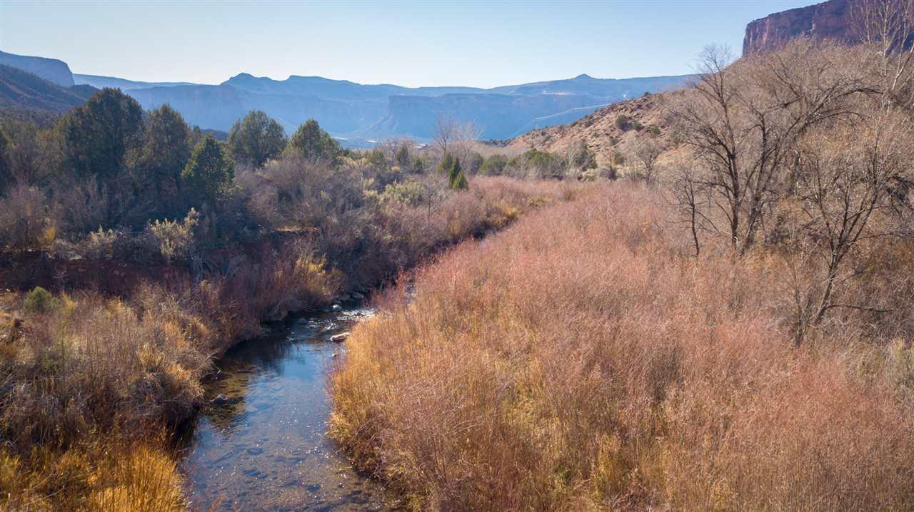 West  Creek Runs Through the Property!