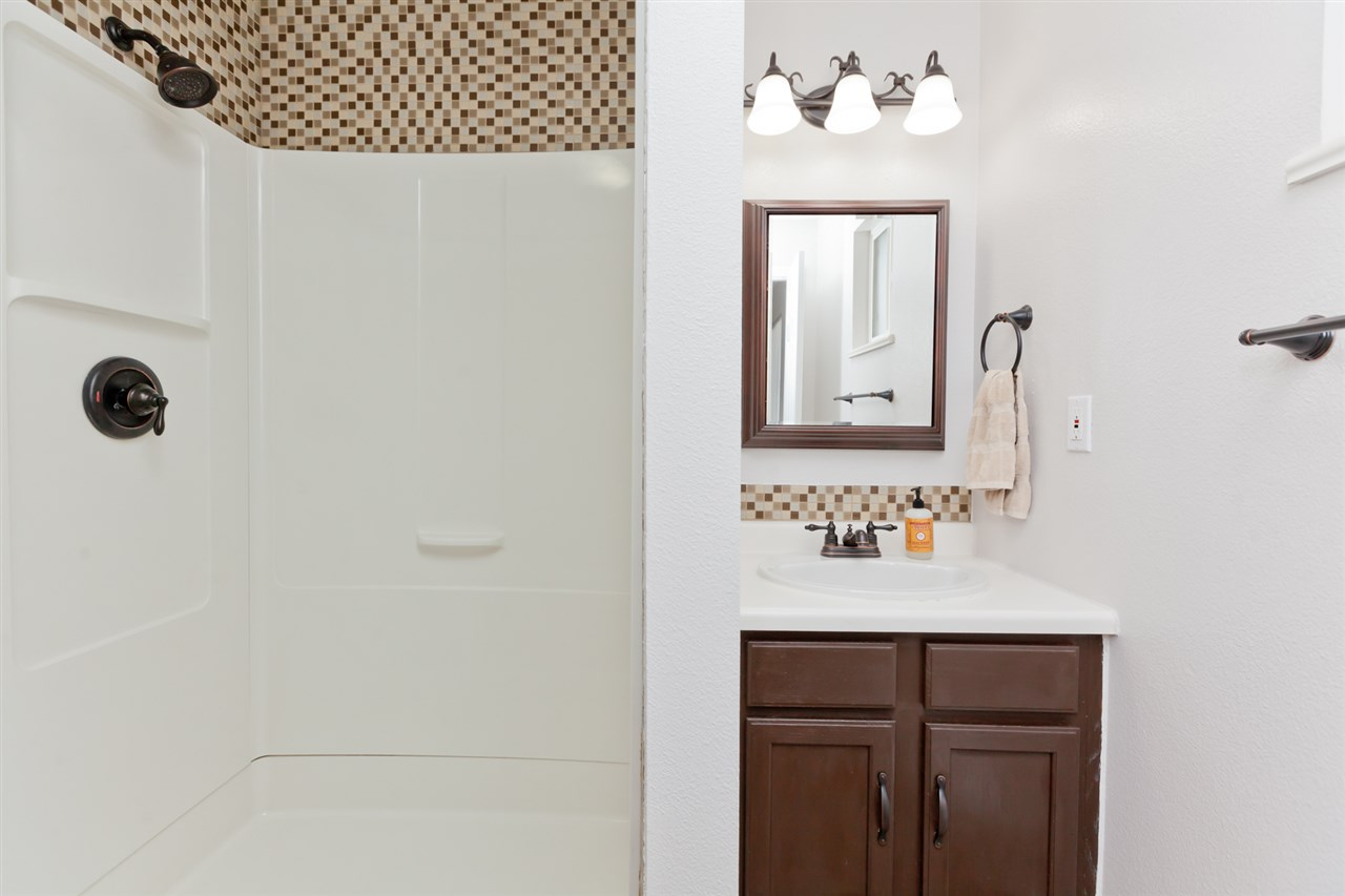 Nicely Updated Master Bathroom!
