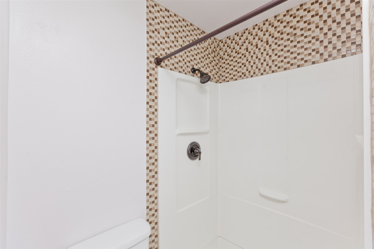 Double Step-in Shower in the Master Bathroom!