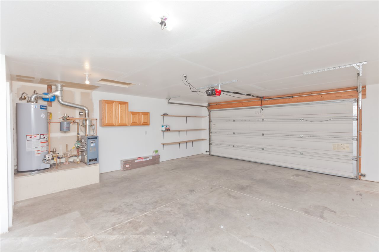 Oversized 2-Car Garage Includes Built-in Storage!