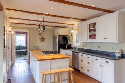 Custom built Kitchen by a local cabinet maker