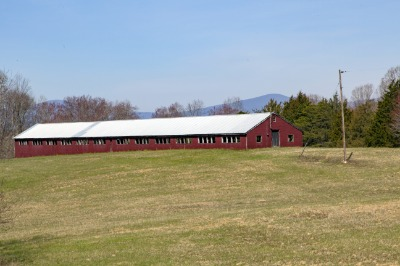 Old Poultry house is 200' long !