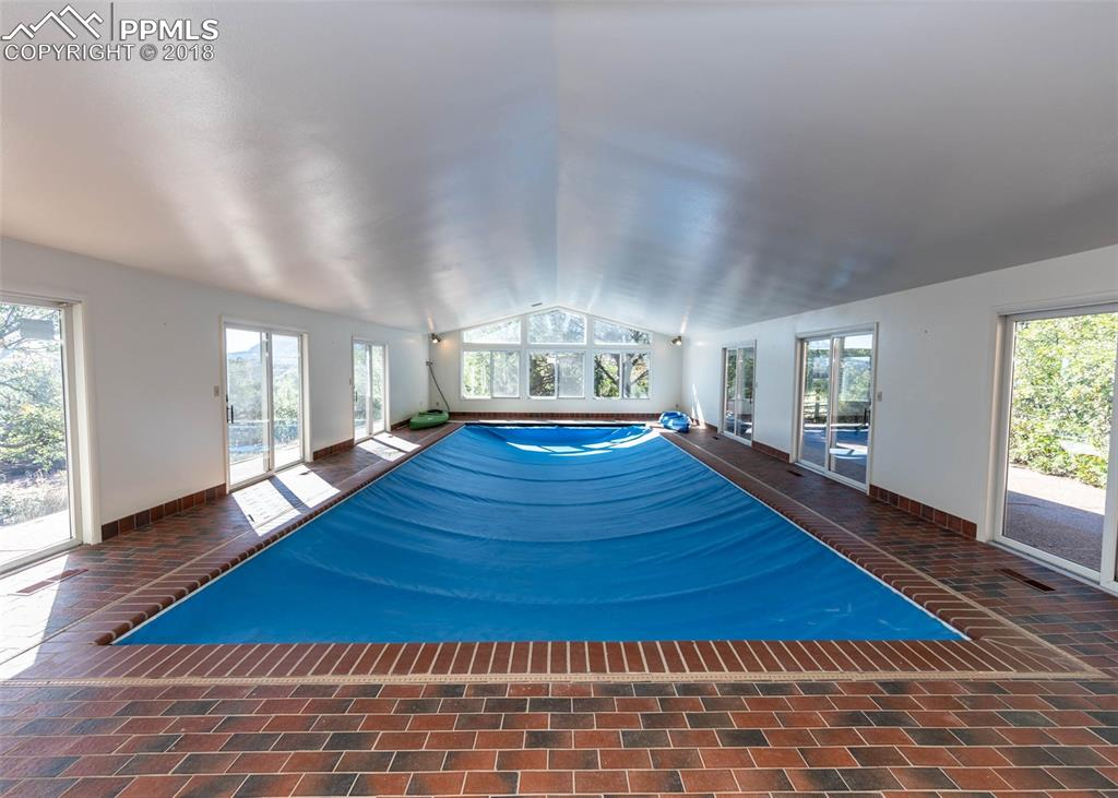Pool with cover