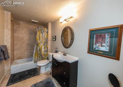 Bath in basement