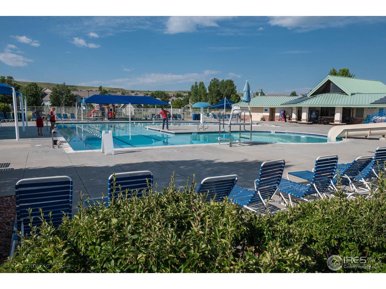 Rock Creek HOA pool