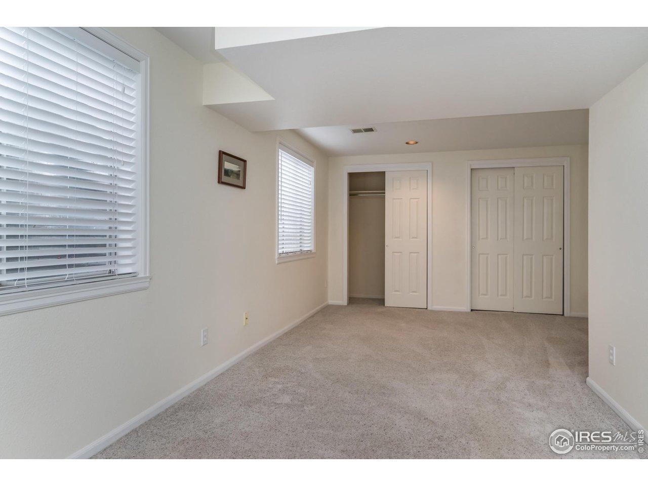 Large third bedroom