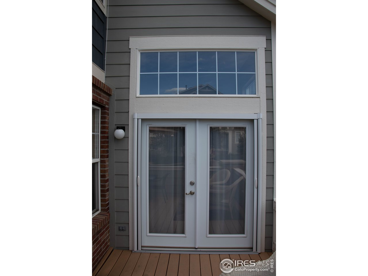 French Doors on to patio