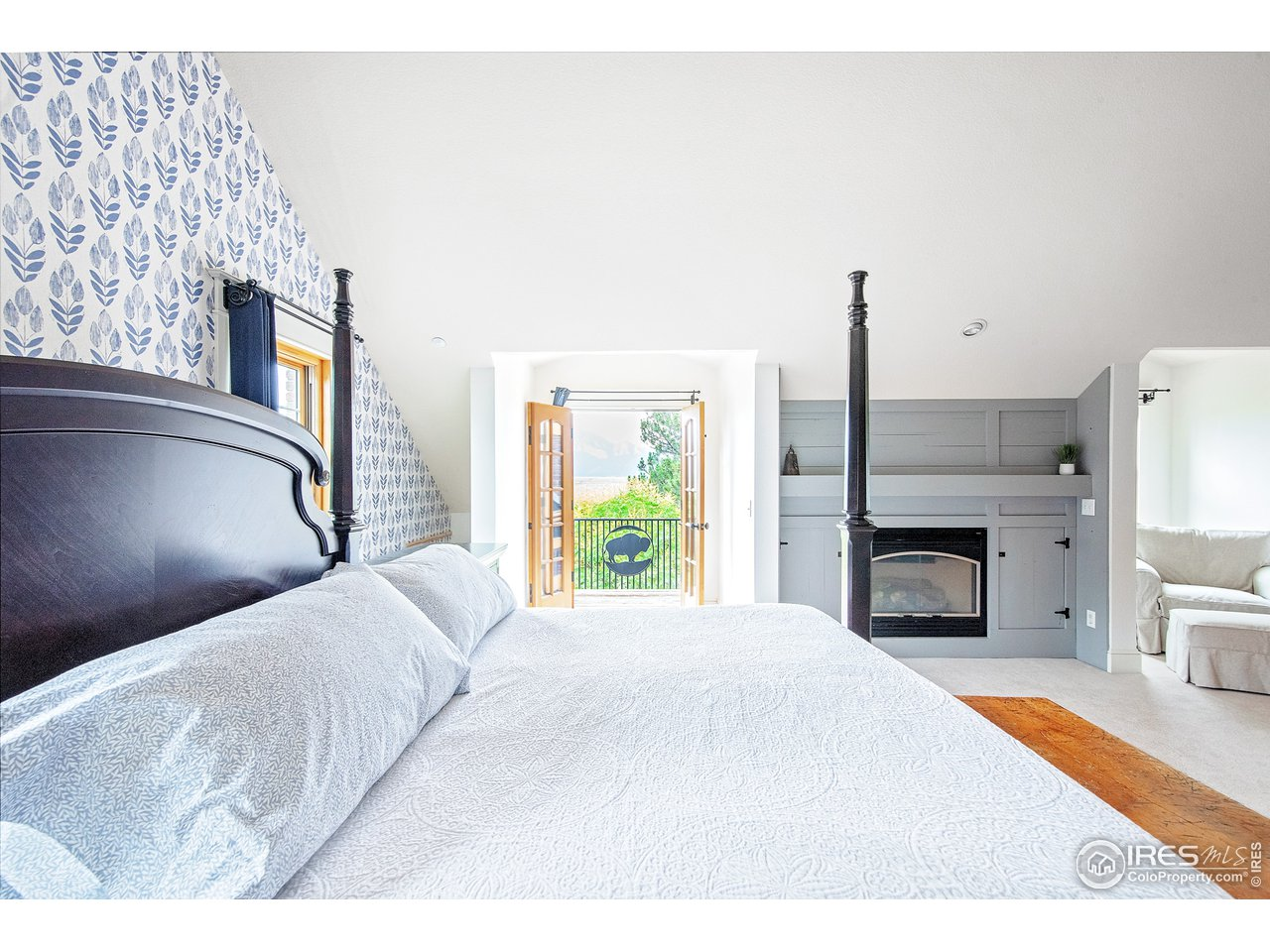 Master Suite with private deck and Flatiron View